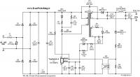 شماتیک منبع تغذیه سوئیچینگ فلای بک Tiny Switch) 12V – 1A)