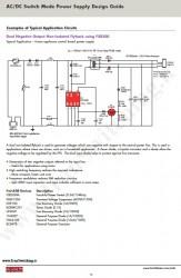 شماتیک منبع تغذیه سوئیچینگ Fairchild) Dual Negative (-5V , -12V) Output Non-Isolated Flyback)