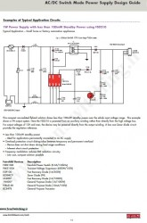 شماتیک منبع تغذیه سوئیچینگ Fairchild)  9V – 100mA)