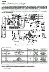 شماتیک منبع تغذیه سوئیچینگ 220W) LED TV)