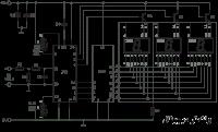 مدار ولتمتر 0 تا 100 ولت و آمپرمتر  0 تا 10 آمپر